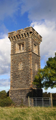 Photo of Albert Tower from A Manx ABCDery
